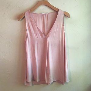 Lush : blush pink tank top